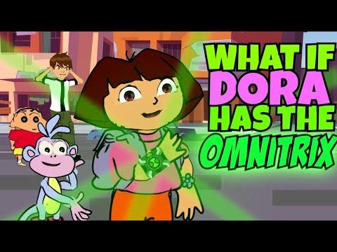 What Happens If Dora Has The Omnitrix ? -[Tamil]»[Eng sub]»[Ep.4] » Shinchan meets Dora,Ben10, Bheem