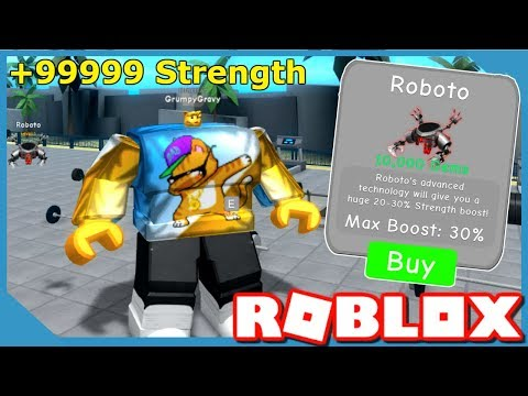 I BOUGHT THE BEST PET AND BECAME THE STRONGEST IN ROBLOX WEIGHT LIFTING SIMULATOR