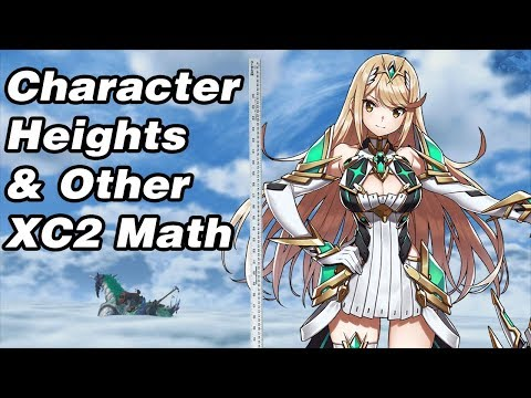 Finding Character Heights & Other XC2 Math