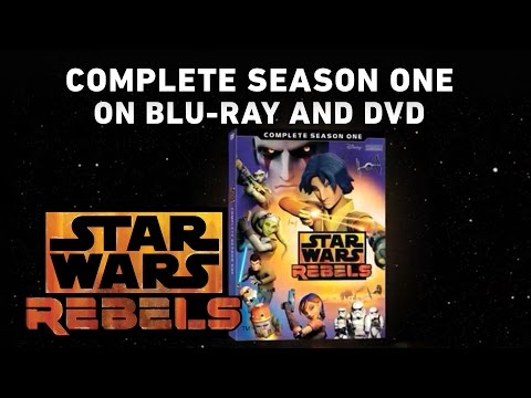 Star Wars Rebels: Complete Season One on Blu-ray and DVD