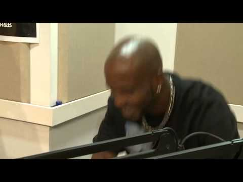 "DMX covering ""Rudolph The Red-Nosed Reindeer"""