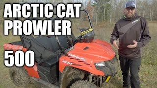 5. TEST RIDE: 2016 Arctic Cat Prowler 500