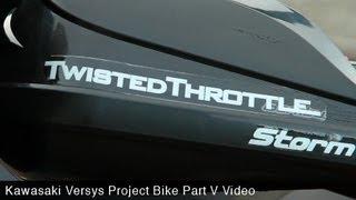 9. MotoUSA Project Bike: 2011 Kawasaki Versys Part 5