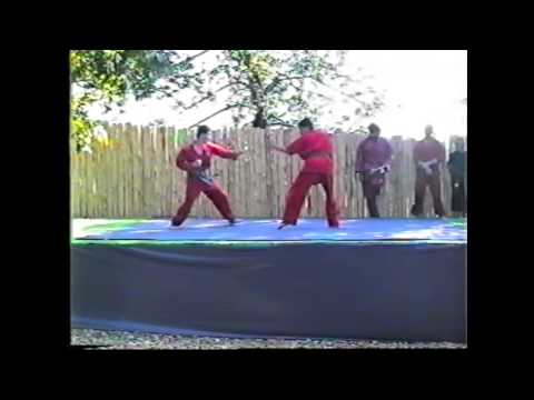 Shaolin Kempo Demonstration 01 sept 1991 Part 1 of 2