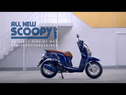 All New Honda Scoopy i Velg 12 Inchi Thailand