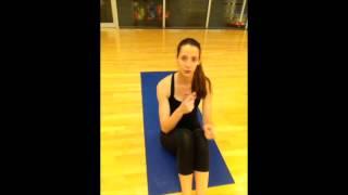 Bikini Abs Workout 1- Pilates Mat Workout