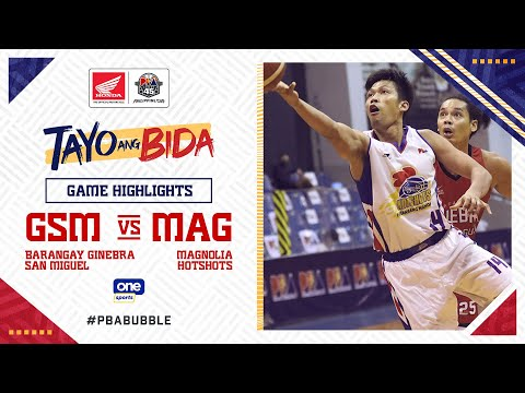 Highlights: Ginebra vs Magnolia | PBA Philippine Cup 2020