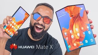 Huawei Mate X - The FOLDABLE 5G Smartphone