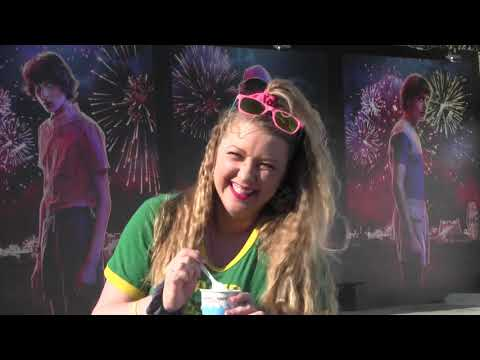Stranger Things Pop Up Experience on What's Popping Up?! with Alana Jordan