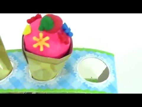 Terra fatta giocattoli: ice land creata con il Bambino Film