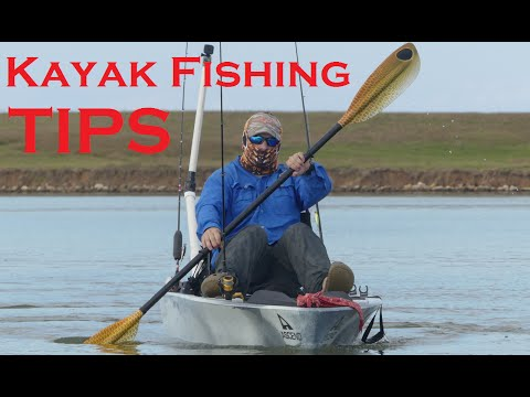 Getting started kayak fishing tips for beginners free for Kayak fishing tips
