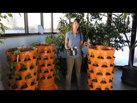 """Burpee Gardens<br />\n<br />\n<strong>Published on Nov 4, 2015</strong>\n\n<p id=""""eow-description"""">See how the Garden Tower planter makes its own compost.</p>"""