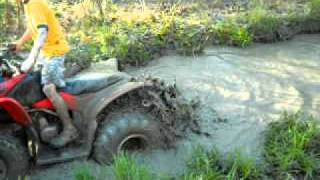 6. Honda Trx90 mud lite and Trx250 swamp lite Mudding