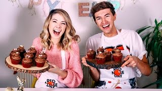 Video How To: Easter Chocolate Cupcakes With Mark | Zoella MP3, 3GP, MP4, WEBM, AVI, FLV September 2018