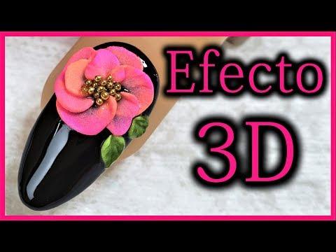Videos de uñas - como hacer uñas en 3d acrilicas - efecto 3d en uñas - uñas acrilicas 2019