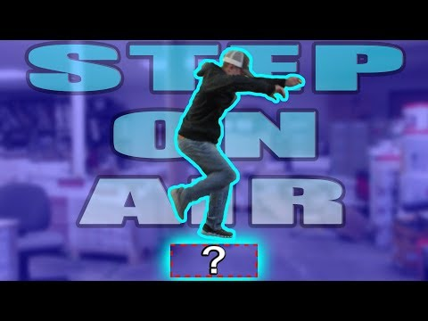 How To STEP ON AIR! (Invisible Box Challenge Tutorial)