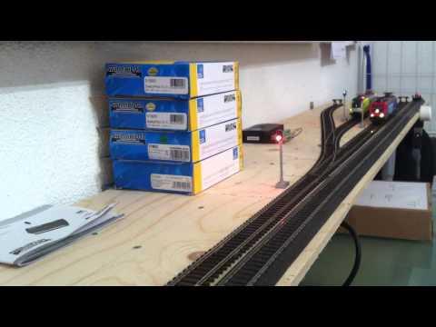 TrainController Pendelzug 6 Blöcke Steuerung - Test 2