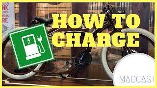 6. How to charge Ruffian Electric Bike