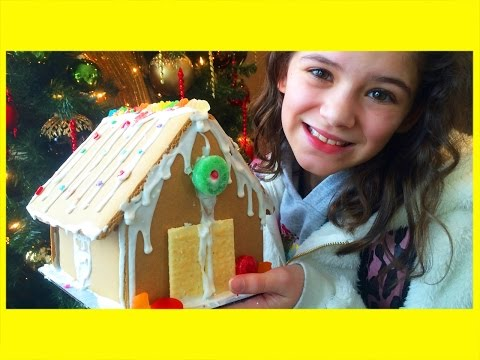gingerbread - Last week's Vlog: https://www.youtube.com/watch?v=uaFkTZ62C64&index=203&list=PL17786672A170FB76 Another awesome family vlog! This week ... Emma was sick so she didn't do interviews, ...