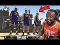 Trash Taing With NBA Superstars Curry And Durant In The Park! NBA 2K19 Park | Court Conquer
