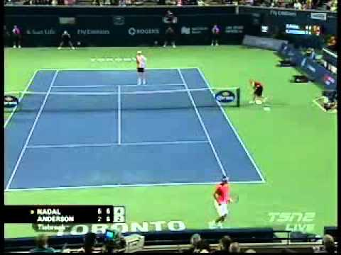Rafael Nadal vs Kevin Anderson- RogersCup 2010