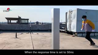 IT-B100 Laser beam over height detection system youtube video