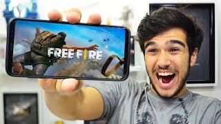 FREE FIRE!! FUI TESTAR O JOGO E FIQUEI IMPRESSIONADO!!