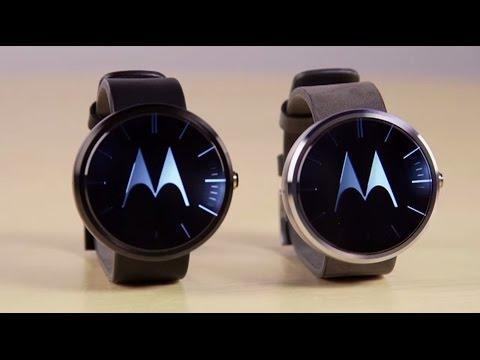 Motorola unveils new Moto X, wearable devices Moto 360 and Moto Hint. | CNBC International