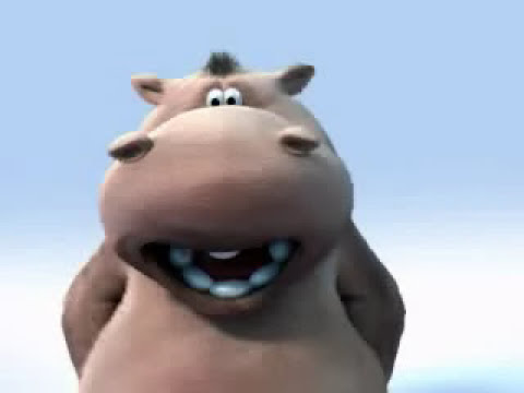 Image of Animated Hippo Sings The Lion Sleeps Tonight - YouTube Video