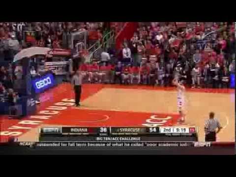 Indiana vs #4 Syracuse (12/3/13) B1G/ACC Challenge