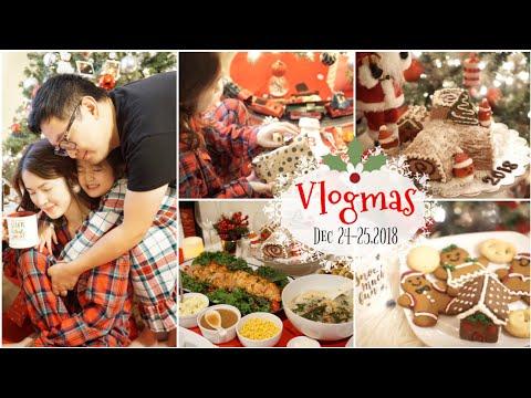 VLOGMAS 24-25 ,2018 ❅ Mở Quà Noel ♥ Làm Bánh Khúc Cây & Nấu Ăn Ngập Mặt ♥ Xmas party  | mattalehang - Thời lượng: 55 phút.
