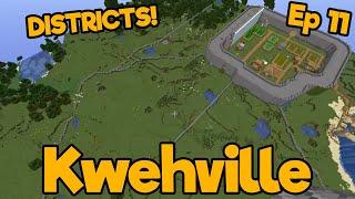 Districts & Taking a Break | Minecraft Vanilla SMP | Ep. 11