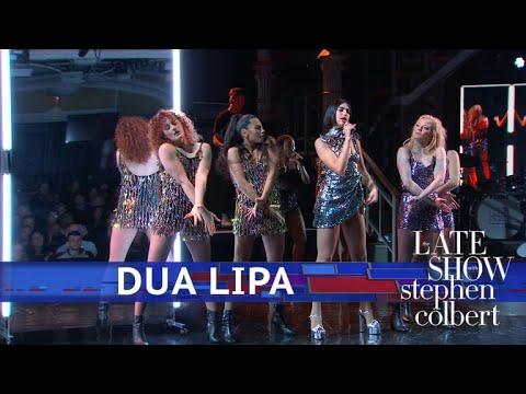 Dua Lipa Performs 'IDGAF' (видео)