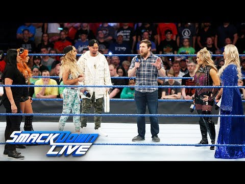 Daniel Bryan makes a decision regarding the Women's Money in the Bank: SmackDown LIVE, June 20, 2017 (видео)