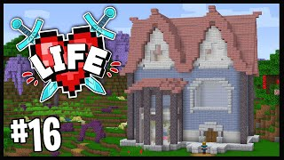 MY DREAM HOUSE IS NEARLY COMPLETE!! (NOT BARBIE..)   Minecraft X Life SMP   #16