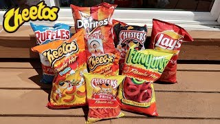 Video TASTING EXTREMELY SPICY CHIP FLAVORS! MP3, 3GP, MP4, WEBM, AVI, FLV Oktober 2018