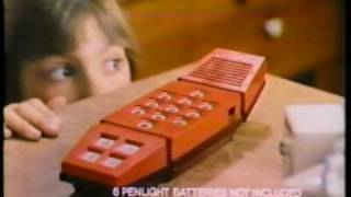 Merlin toy game classic tv commercial 1980