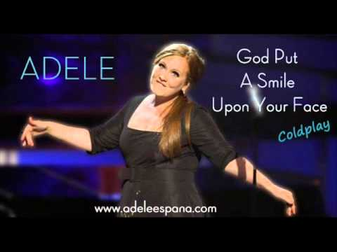 Tekst piosenki Adele - God Put a Smile Upon Your Face po polsku