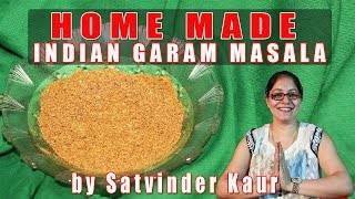 How To Make Garam Masala At Home By Satvinder Kaur