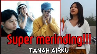 "Download Video ORANG KOREA SUPER MERINDING MENDENGAR ""TANAH AIRKU-LAGU NASIONAL INDONESIA MP3 3GP MP4"