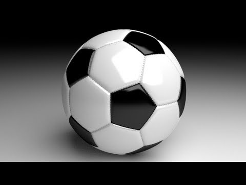 blender - http://www.LittleWebHut.com This Blender video demonstrates how to make a soccer ball with stitching. Blender's cycles render engine is also used. Blender ve...