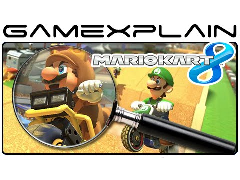 Mario - http://www.GameXplain.com We analyze the Mario Kart 8 Excitebike Arena DLC trailer to uncover all the secrets it's hiding, such as how the unique random track layouts work, hidden references...