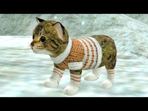СИМУЛЯТОР Маленького КОТЕНКА #22 Челлендж с животными виртуальные котики детский летсплей #ПУРУМЧАТА