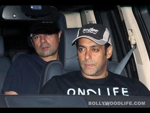 Salman Khan - Salman Khan visits Sanjay Dutt before he goes to jail By http://www.bollywoodlife.com Some of the well known personalities of the film industry including Sal...
