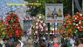 Schützenfest Düsseldorf Hamm 20140907 Zug