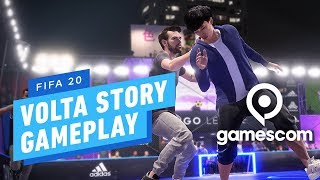 FIFA 20: 11 Minutes of Volta Story (4K) - Gamescom 2019 by IGN