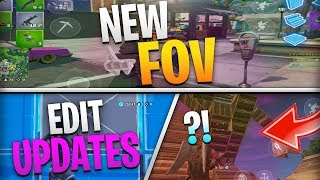 Fortnite Mobile News | FOV Updates, Editing Improvements, Switch VS Mobile, AND MORE!