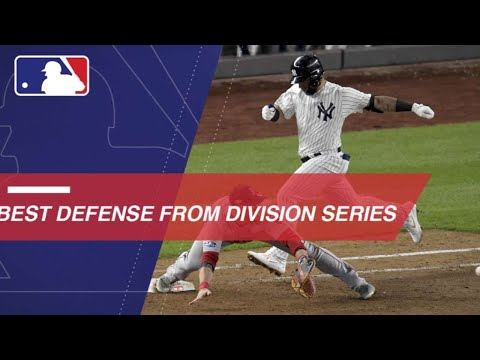 Video: Top defensive plays from Division Series play