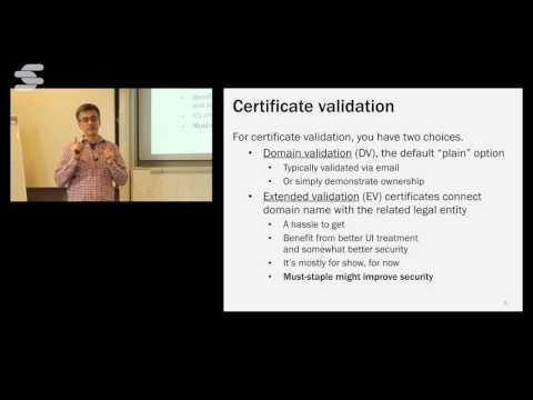 SSL/TLS Deployment Best Practices - Ivan Ristić