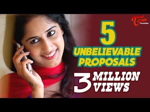5 Unbelievable Proposals | Latest Short Film